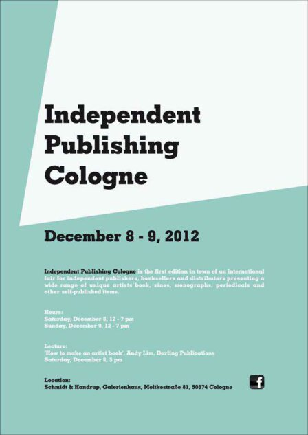 Independent Publishers Group: Independent Publishing Cologne « Dienacht